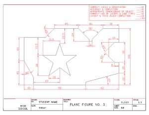 Plane Figure No. 3